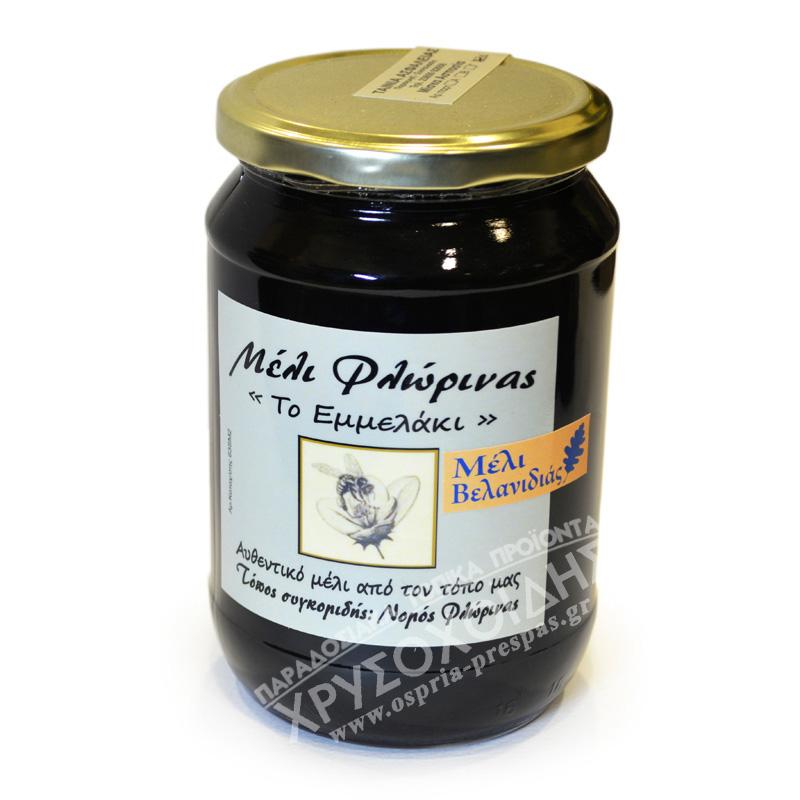 Μέλι Βελανιδιάς 800g – Το Εμμελάκι - Όσπρια Πρέσπας - Χρυσοχοΐδης