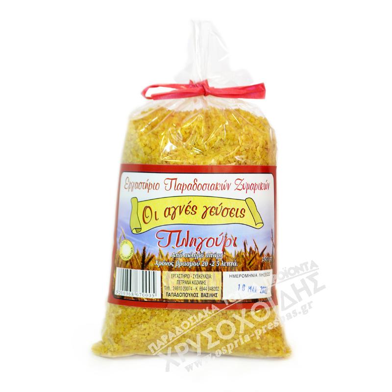 Οι Αγνές Γεύσεις - Πληγούρι - Όσπρια Πρέσπας - Χρυσοχοΐδης