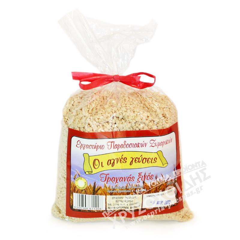 Οι Αγνές Γεύσεις - Τραχανάς Ξινός - Όσπρια Πρέσπας - Χρυσοχοΐδης