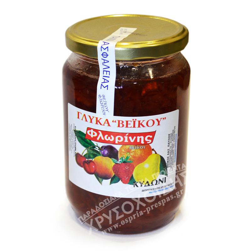 Κυδώνι 850g – Γλυκά Βέικου - Όσπρια Πρέσπας - Χρυσοχοΐδης
