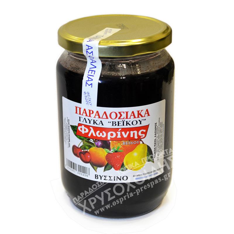 Βύσσινο 850g - Γλυκά Βέικου - Όσπρια Πρέσπας - Χρυσοχοΐδης